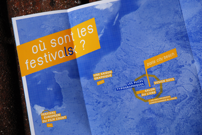 FESTIVAUX - le projet par Quentin Degranage, designer graphique freelance