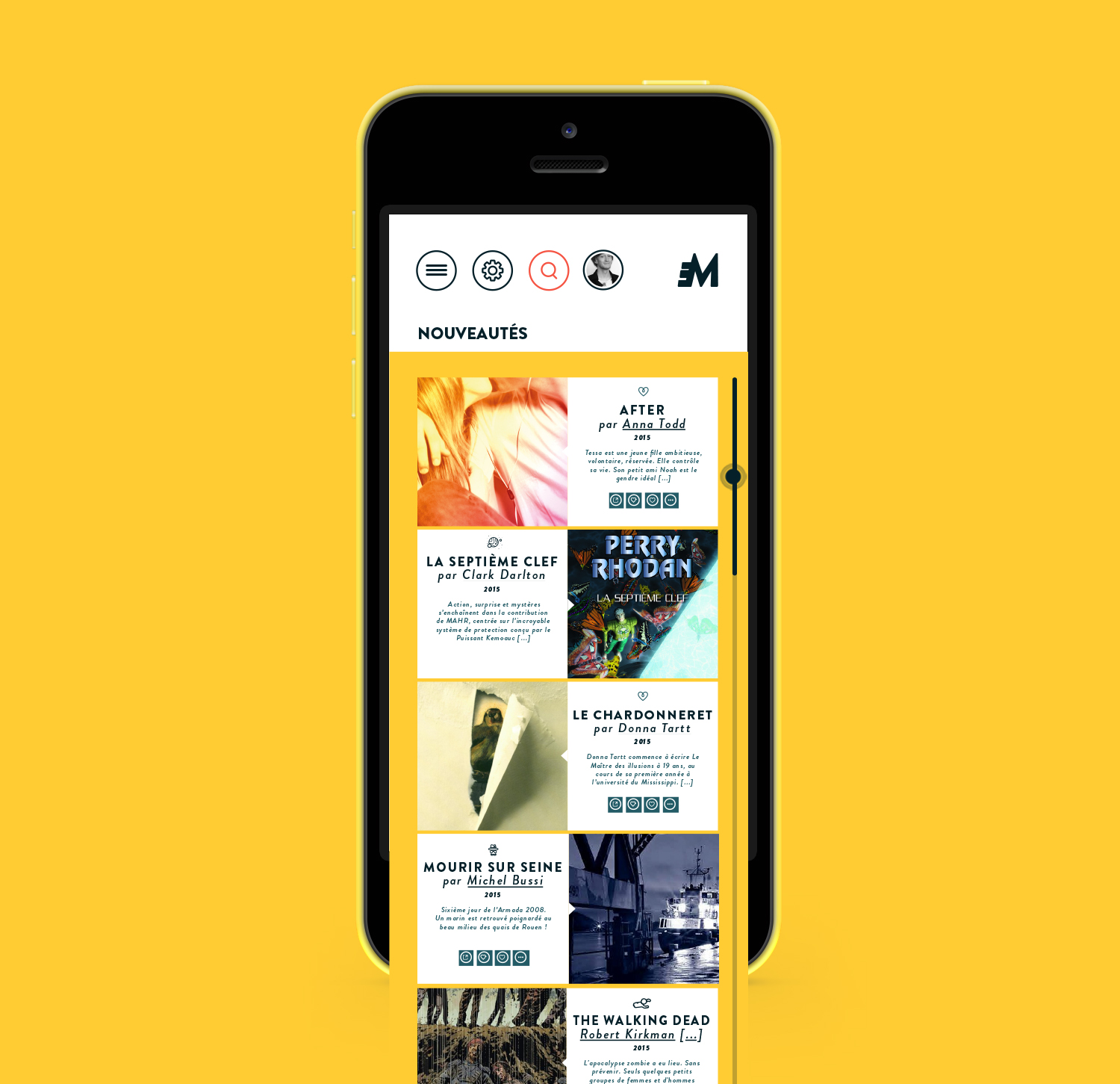 MediaTake - la culture mobile - nouveautés par Quentin Degrange, designer graphique freelance