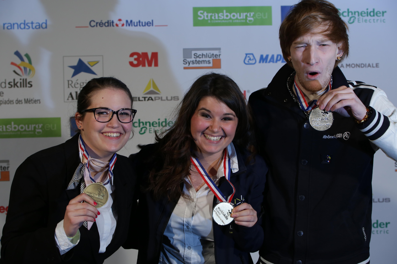 Les Olympiades des Métiers 2015 <br />Finale Nationale à Strasbourg