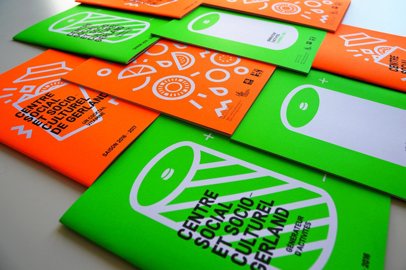 CSG Plaquette 2016-2017 Projet d'édition graphic, Quentin Degrange, Graphiste Freelance Cannes, Nice, Monaco